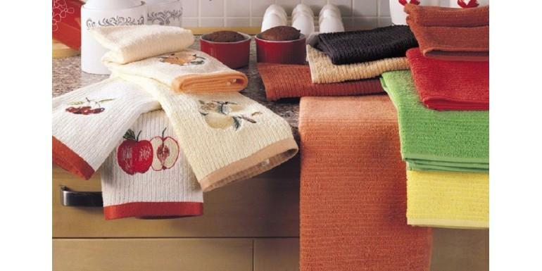 Стирка кухонных полотенец: полезные советы