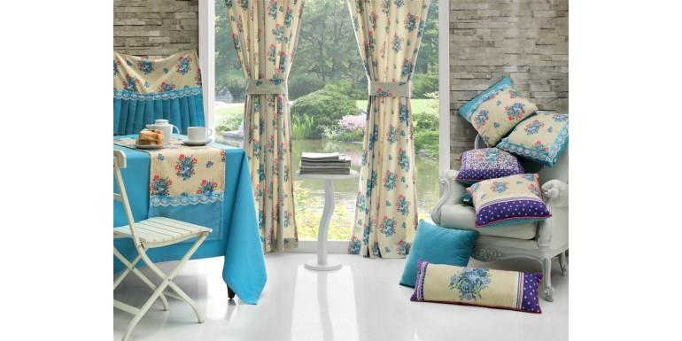 Уютный дом с элементами текстиля