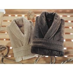 Домашняя одежда U.S.Polo Assn - Халат Queen XS/S бежевый, , 2