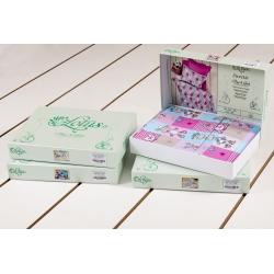 Постельное белье для подростков Lotus Premium B&G - Eifel лиловый, , 3