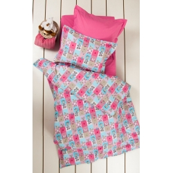 Постельное белье для подростков Lotus Premium B&G - Sweetie розовый, , 2