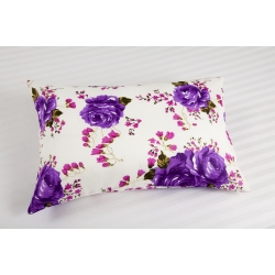 Наволочки Lotus ранфорс - Helen фиолетовый 50*70 (2 шт), , 2