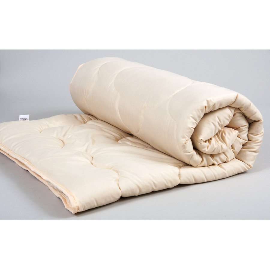 Одеяло Lotus - Comfort Wool 140*205 бежевое полуторное