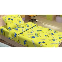 Детское постельное белье для младенцев Lotus ранфорс - Minions Happy желтый, , 2