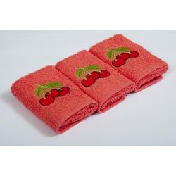 Набор махровых полотенец Vevien - Cherry, , 3