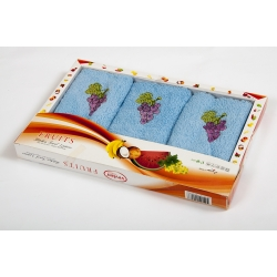 Набор махровых полотенец Vevien - Grapes, , 2