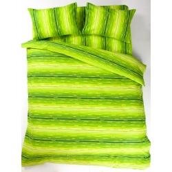 Постельное белье Lotus Ranforce - Metropolis зеленый семейное - Фото 2