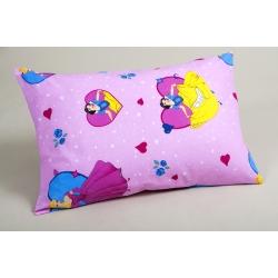 Наволочки Lotus ранфорс - Sweet Princess розовый 50*70 (2 шт), , 2
