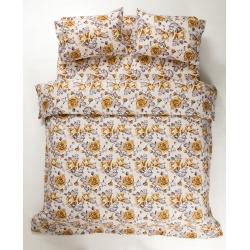 Постельное белье Lotus Ranforce - Jadore оранжевый двуспальное  - Фото 2