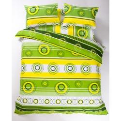 Постельное белье Lotus Ranforce - Sweet зеленый евро - Фото 2