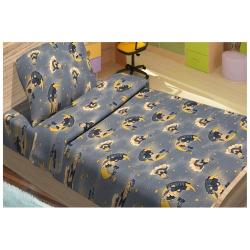 Детское постельное белье для младенцев Lotus ранфорс - ToBi синий, , 2