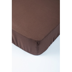 Простынь Lotus Premium - Темно-коричневый 80*200+15, , 3