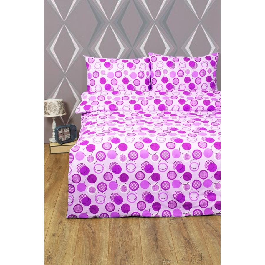 Постельное белье Lotus Ranforce - Erin розовый евро