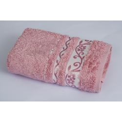 Полотенце махровое Pupilla Vip Bamboo - Lady/Fresh темно розовый 70*140, , 2