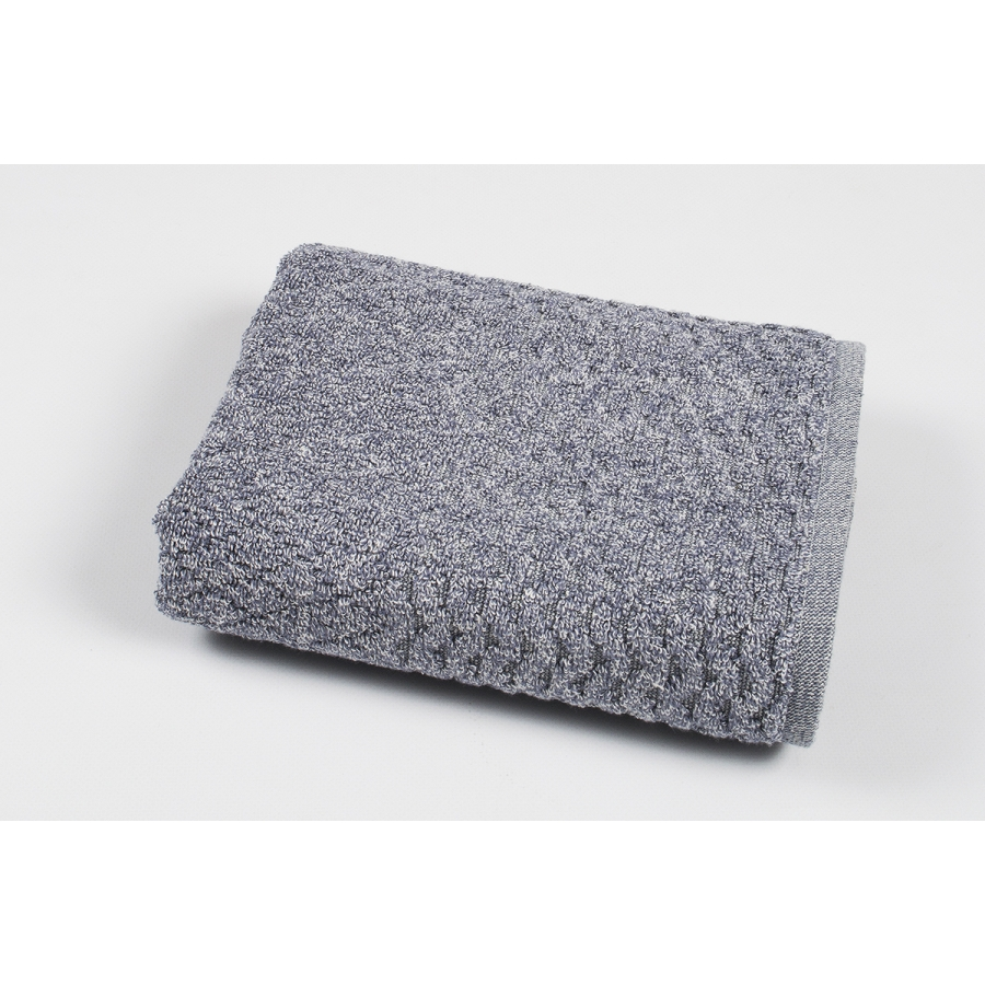 Полотенце махровое Pupila - Bump gri серый 50*90