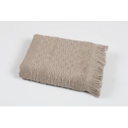 Полотенце махровое Pupila - Story brown коричневый 50*90, , 2