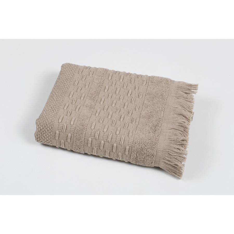 Полотенце махровое Pupila - Story brown коричневый 50*90