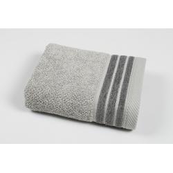 Полотенце махровое Pupila - Elson gri серый 50*90, , 2