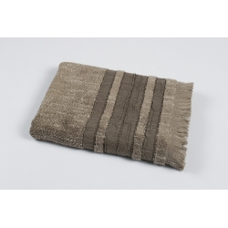 Полотенце махровое Pupila - Skin brown коричневый 50*90, , 2