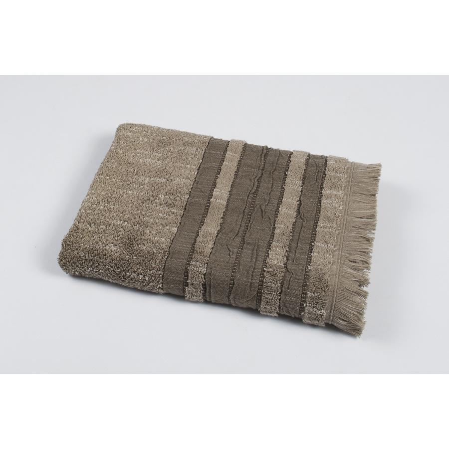 Полотенце махровое Pupila - Skin brown коричневый 50*90
