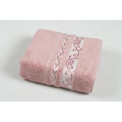 Полотенце махровое Pupilla Vip Bamboo - Lady/Fresh темно розовый 70*140, , 3