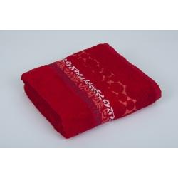 Полотенце махровое Pupila - Motcom красный 70*140, , 3