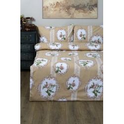 Постельное белье Lotus Ranforce - Nocturne бронзовый семейное, , 2