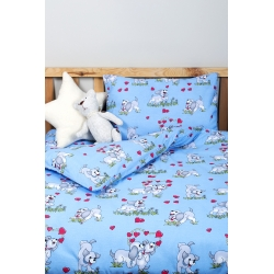 Детское постельное белье для младенцев Lotus ранфорс - DoGi голубой - Фото 3