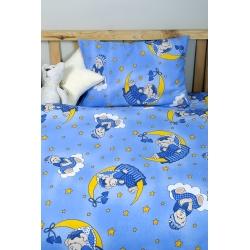 Детское постельное белье для младенцев Lotus ранфорс - ToBi синий, , 3