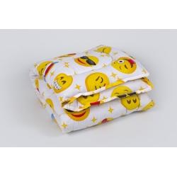 Детское одеяло Lotus - Colour Fiber 110*140 Emoji желтый, , 2