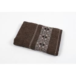 Полотенце махровое Binnur - Vip Cotton 07 70*140 коричневый, , 2