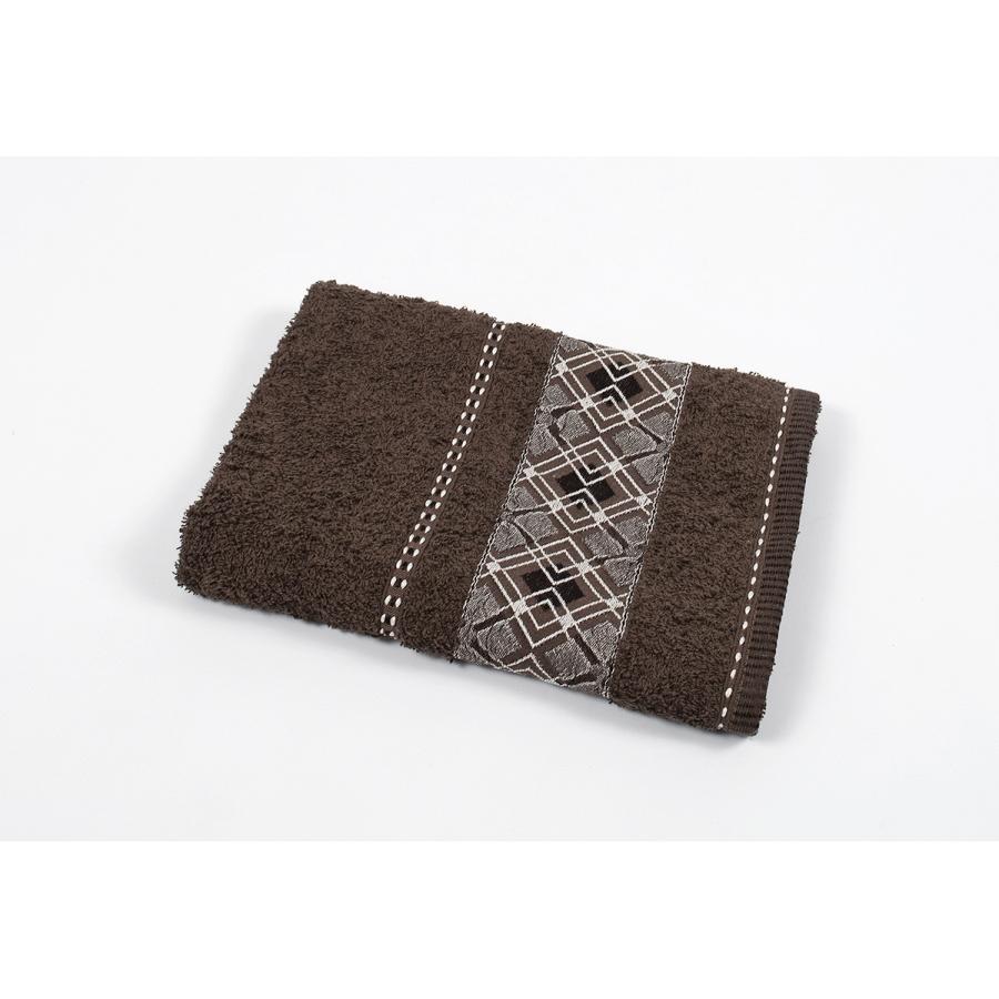 Полотенце махровое Binnur - Vip Cotton 07 70*140 коричневый