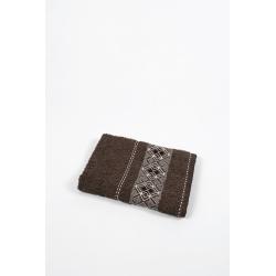 Полотенце махровое Binnur - Vip Cotton 07 70*140 коричневый, , 3