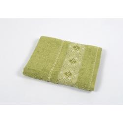 Полотенце махровое Binnur - Vip Cotton 07 70*140 оливковый, , 2