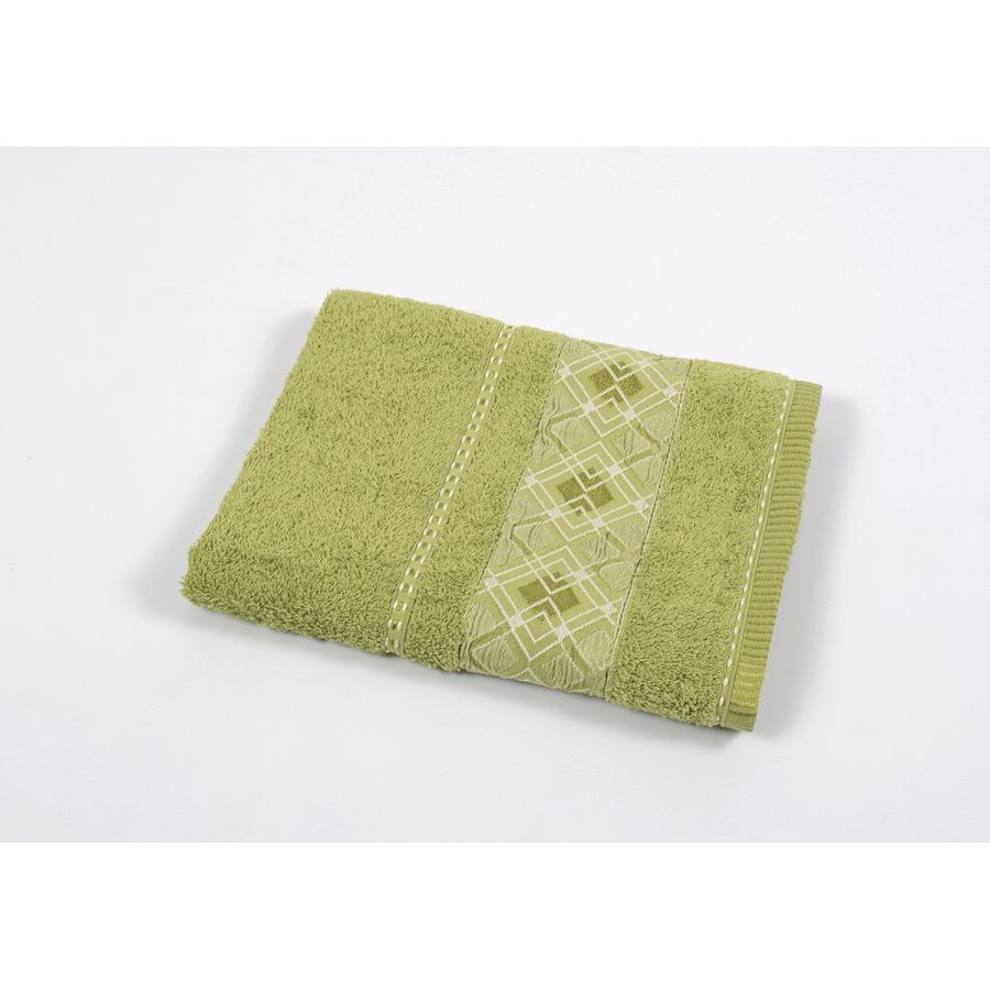 Полотенце махровое Binnur - Vip Cotton 07 70*140 оливковый