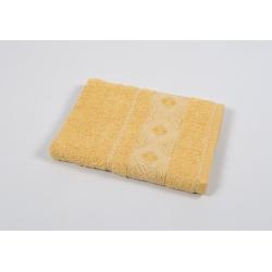 Полотенце махровое Binnur - Vip Cotton 07 70*140 желтый, , 2