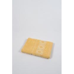 Полотенце махровое Binnur - Vip Cotton 07 70*140 желтый, , 3
