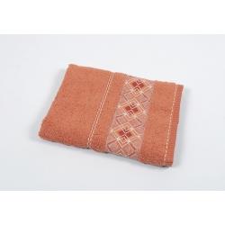 Полотенце махровое Binnur - Vip Cotton 07 70*140 оранжевый, , 2