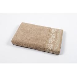 Полотенце махровое Binnur - Vip Cotton 11 70*140 кофе, , 2