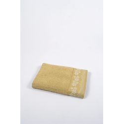Полотенце махровое Binnur - Vip Cotton 11 70*140 горчичный, , 3