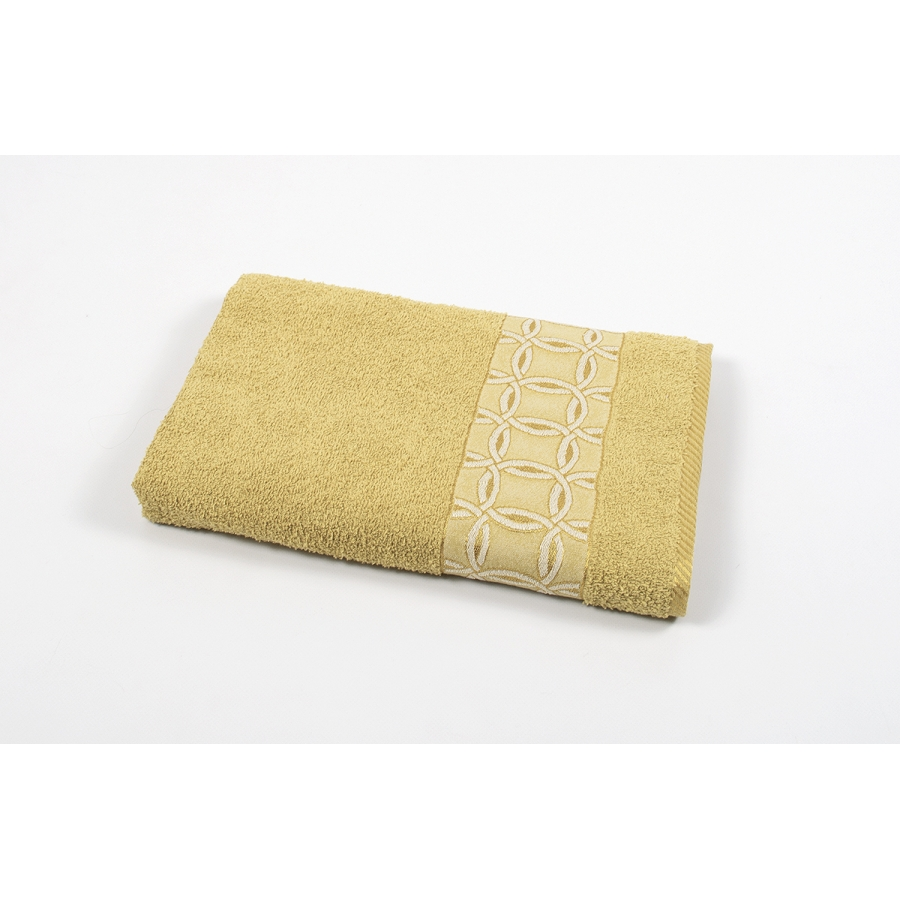 Полотенце махровое Binnur - Vip Cotton 12 70*140 горчичный