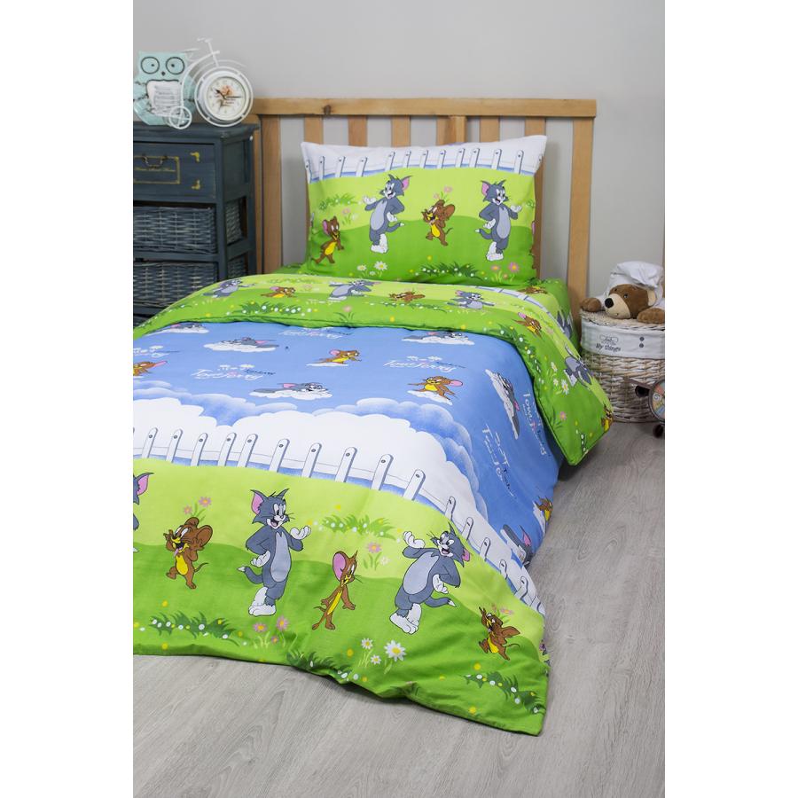 Постельное белье для подростков Lotus Young - Tom and Jerry ранфорс