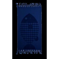 Полотенце Barine - Fish Lacivert синий 50*90, , 3