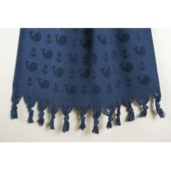 Полотенце Barine - Whale lacivert синий 50*90 , , 7