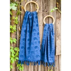 Полотенце Barine - Whale lacivert синий 50*90 , , 5