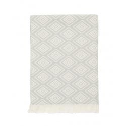 Плед-накидка Barine - Diamond Throw grey серый 130*170, , 2