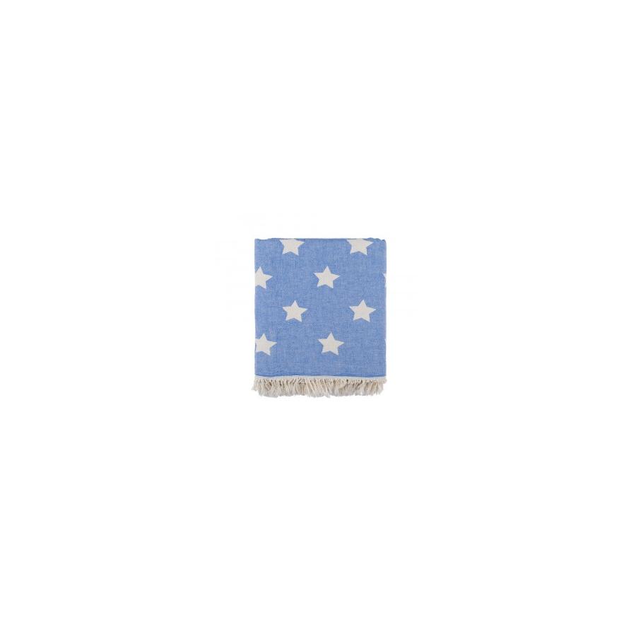 Плед-накидка Barine - Stars Throw mavi синий 130*170