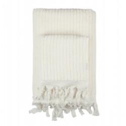 Полотенце Barine - Rib ecru молочный 45*90, , 2