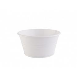 Декоративная ваза Barine - Metal Pot White, , 2