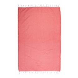 Полотенце Barine Pestemal - Engin 100*180 Mandarin Red красное, , 2